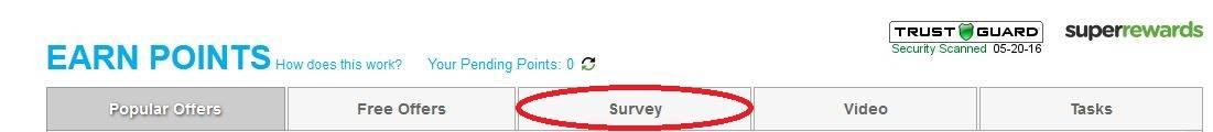 Sponsor #2 Survey