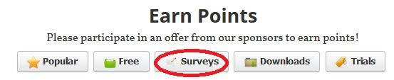 Sponsor #2 Surveys